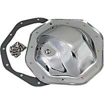 Transdapt 9041 Differential Cover - Chrome, Steel, Direct Fit, Kit