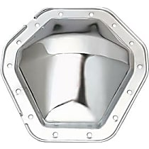9071 Differential Cover - Chrome, Steel, Direct Fit, Sold individually