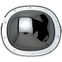 Differential Cover - Chrome, Steel, Direct Fit, Sold individually