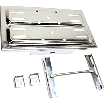 Battery Tray - Polished, Stainless Steel, Universal, Sold individually