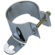 9366 Ignition Coil Bracket - Chrome, Steel, Universal