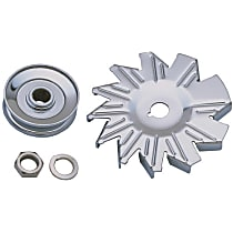 Transdapt 9446 Alternator Pulley - Single groove, Universal, Kit