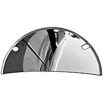 9512 Headlight Guard - Chrome, Steel, Universal