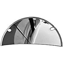 Transdapt 9512 Headlight Guard - Chrome, Steel, Universal