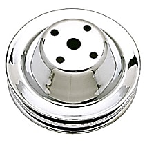 9605 Water Pump Pulley - Chrome, Chrome, Direct Fit, Sold individually