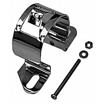 Transdapt 9648 Ignition Coil Bracket - Chrome, Steel, Universal