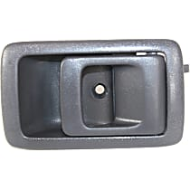 Interior Door Handle, Gray Front or Rear, Passenger Side