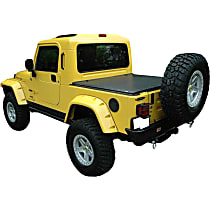 Truxedo 540501 Jeep Tonneau Cover - Black, Vinyl, Soft Cover, Direct Fit, Sold individually
