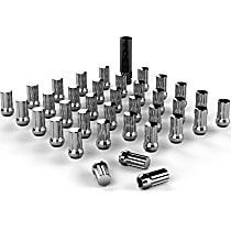 1050916 Lug Nut - Chrome, 9/16 x 18 in. Universal, Set of 36