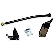 1600444 Track Bar - Black, Direct Fit, Kit