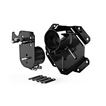 4838188 Spare Tire Carrier - Black, Direct Fit, Sold individually