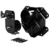 4838235 Spare Tire Carrier - Black, Steel, Direct Fit, Sold individually
