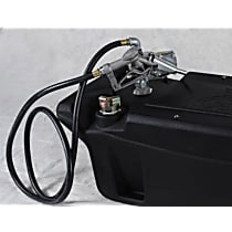 9901130 Liquid Tank - Black, Direct Fit