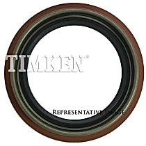 Axle Seal - Direct Fit, Sold individually Front, Center