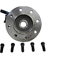 Front, Driver Side Wheel Hub With Ball Bearing - Sold individually