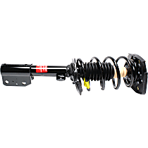 OE Replacement Rear, Driver Side Loaded Strut - Sold individually