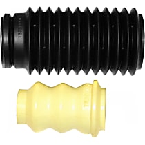63630 Shock and Strut Boot - Black, Strut boot, Direct Fit, Sold individually