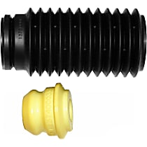 63632 Shock and Strut Boot - Black, Strut boot, Direct Fit, Sold individually
