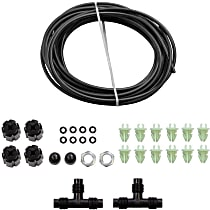 Air Shock Line Kit - Direct Fit, Kit Rear