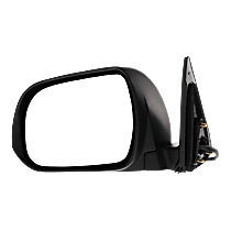 Mirror - Driver Side, Power, Heated, Paintable, With Puddle Lamp, Japan Built Models
