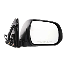 Mirror - Passenger Side, Power, Heated, Paintable, With Puddle Lamp, Japan Built Models