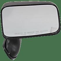 Mirror Manual Folding - Passenger Side, Textured Black