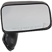 Mirror Manual Folding - Passenger Side, Textured Black