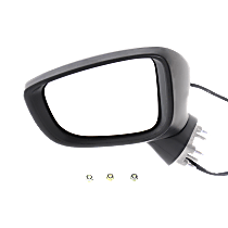 Mirror Manual Folding Non-Heated - Driver Side, Power Glass, In-housing Signal Light, Paintable