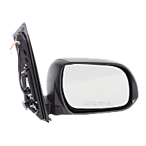 Mirror - Passenger Side, Power, Textured Black