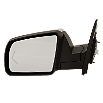 Mirror Power Folding Heated - Driver Side, Power Glass, In-glass Signal Light, Chrome
