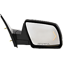 Mirror - Passenger Side, Power, Heated, Power Folding, Chrome, With Turn Signal and Puddle Lamp