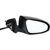 Mirror - Passenger Side, Power, Heated, Folding, Paintable, With Turn Signal, Memory