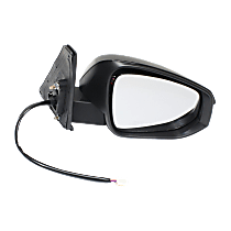 Mirror - Passenger Side, Power, Heated, Folding, Paintable, With Turn Signal and Puddle Lamp