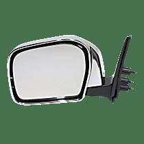 Mirror - Driver Side, Folding, Chrome