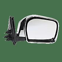 Mirror - Passenger Side, Folding, Chrome