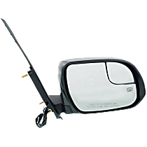 Mirror - Passenger Side, Power, Heated, Folding, Paintable, With Blind Spot Glass
