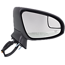 Mirror - Passenger Side, Power, Heated, Folding, Paintable, With Turn Signal, Blind Spot Glass and Puddle Lamp