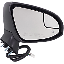 Mirror - Passenger Side, Power, Heated, Power Folding, Paintable, With Turn Signal, Memory, Blind Spot Glass and Puddle Lamp