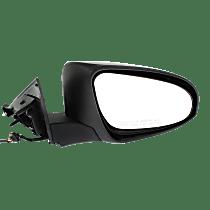 Mirror - Passenger Side, Power, Heated, Folding, Paintable