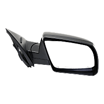 Mirror - Passenger Side, Power, Heated, Power Folding, Textured Black, With Blind Spot Function, Models With Lane Change Assist