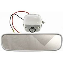 Rear View Mirror - Gray, Direct Fit, Sold individually
