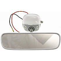 Kool Vue TY20 Rear View Mirror - Gray, Direct Fit, Sold individually