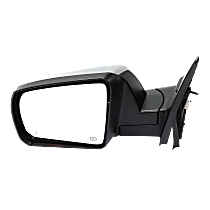 Mirror Power Folding Heated - Driver Side, Power Glass, With Blind Spot Detection in Glass, Chrome