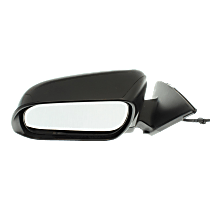 Mirror - Driver Side, Power, Heated, Paintable, With Puddle Lamp, US Built Models