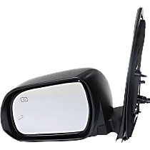 Mirror - Driver Side, Power, Heated, Power Folding, Paintable, With Turn Signal, Memory and Blind Spot Function