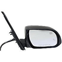 Mirror - Passenger Side, Power, Heated, Power Folding, Paintable, With Turn Signal, Memory and Blind Spot Function
