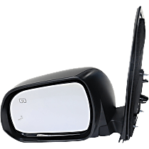 Mirror - Driver Side, Power, Heated, Folding, Paintable, With Blind Spot Function and Puddle Lamp