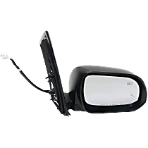 Mirror - Passenger Side, Power, Heated, Folding, Paintable, With Blind Spot Function and Puddle Lamp