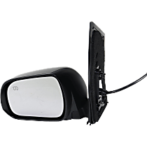 Mirror - Driver Side, Power, Heated, Folding, Paintable, With Memory and Puddle Lamp