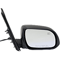 Mirror - Passenger Side, Power, Heated, Folding, Paintable, With Memory and Puddle Lamp